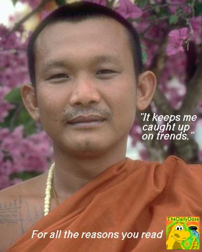The Daily Dose Endorsed By Tibetan Monk