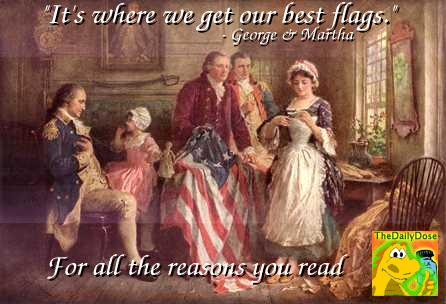 George N Martha Washington Endorse The Daily Dose