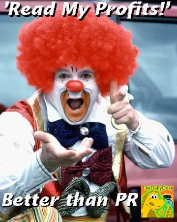 Clown Endorses The Daily Dose