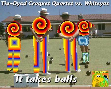 Tie Dyed Croquet Endorses The Daily Dose