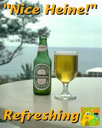 Rejected Heineken Endorses The Daily Dose