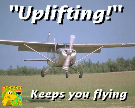 Uplifting Airplane Endorses The Daily Dose
