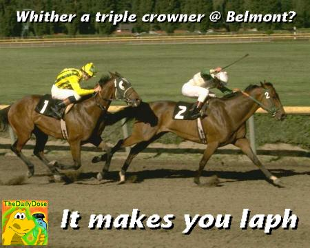 Triple Maybe At Belmont