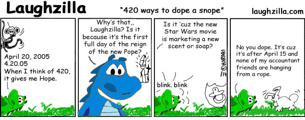 The 420 Ways To Dope A Snope