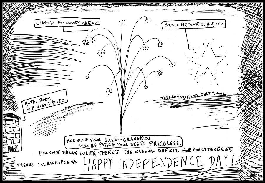editorial cartoon by laughzilla from 2011