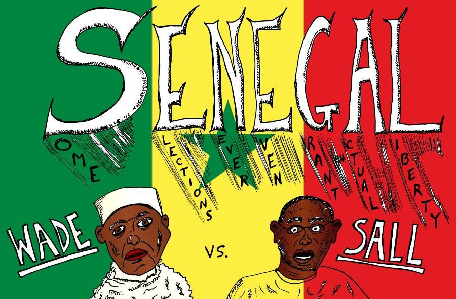 Senegal Elections Wade Vs Sall